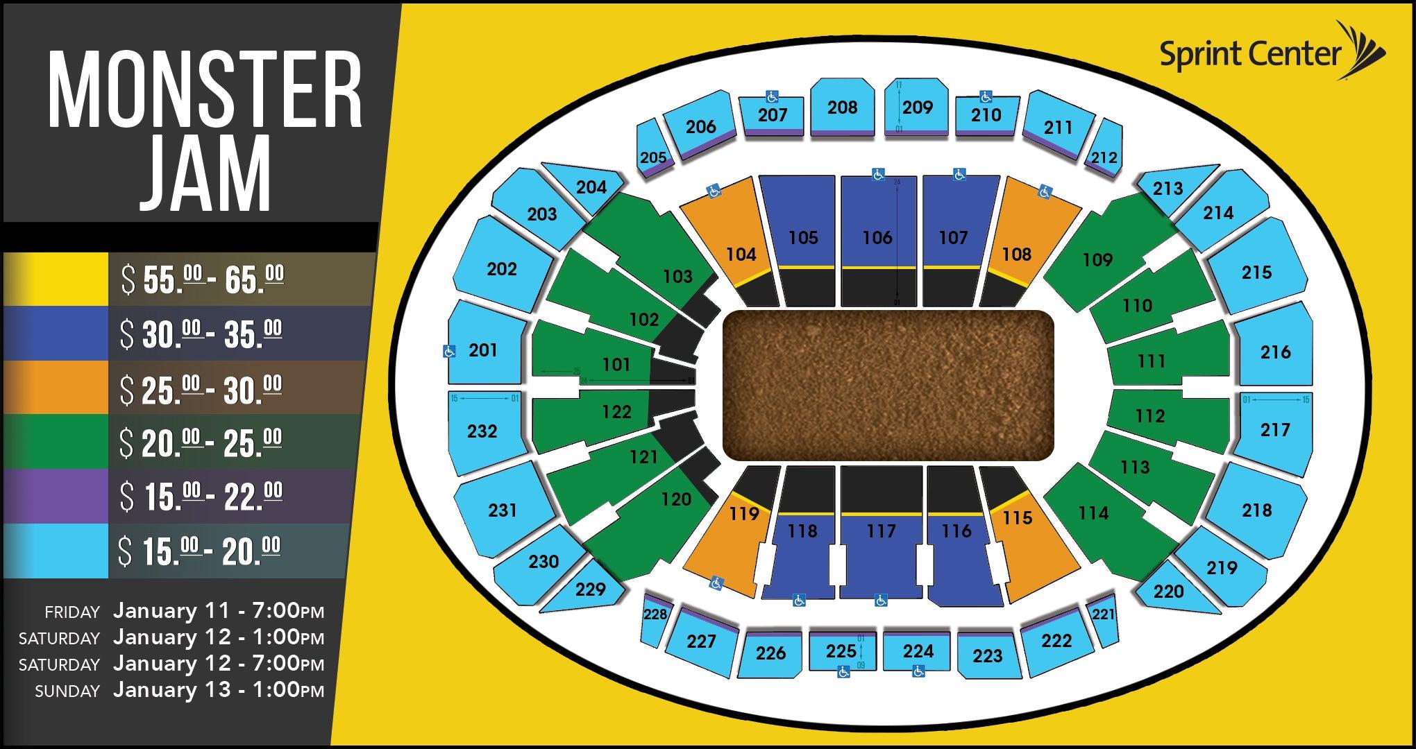 01.13.19 TSO 11.20 5ee0b446b6 seating charts sprint center