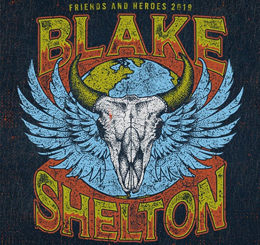 "More Info for Blake Shelton Takes His ""Friends & Heroes"" On The Road For 2019 Headlining Tour"
