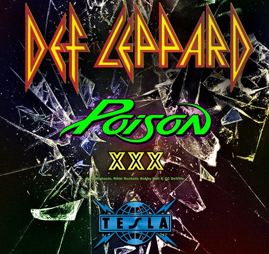 More Info for Def Leppard Rocks Sprint Center On June 21 With Poison