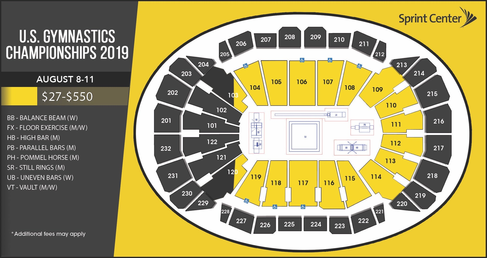 Seating Charts | Sprint Center