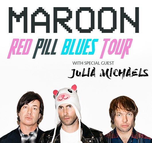 More Info for Maroon 5 Announces 2018 Red Pill Blues Tour