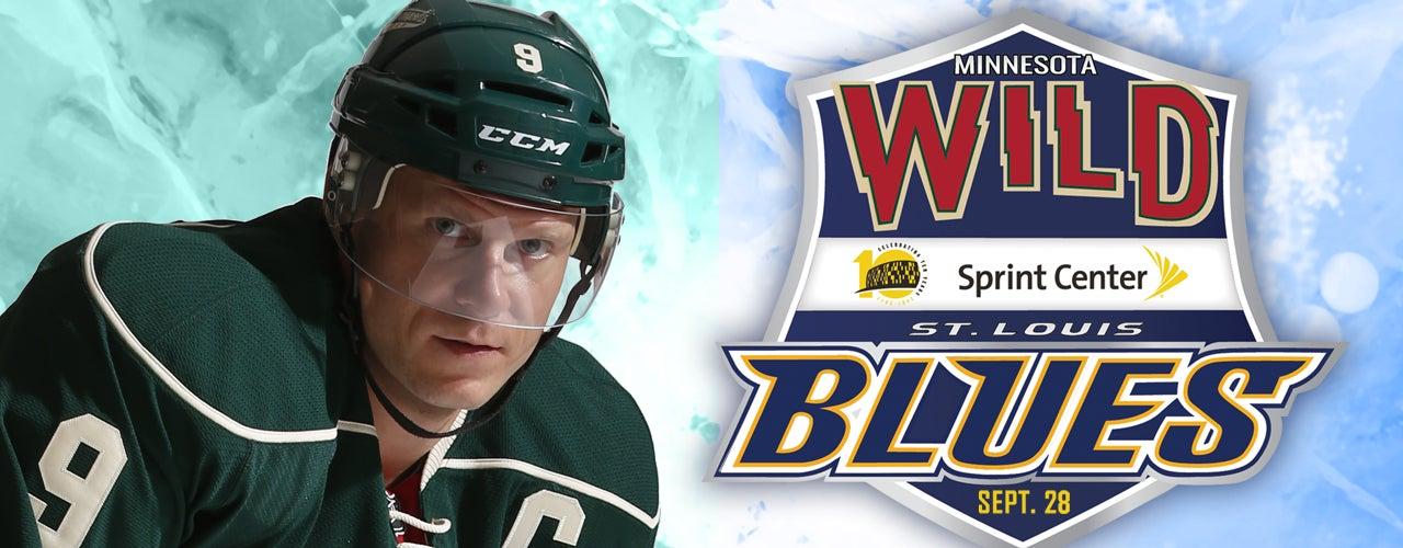 Minnesota Wild vs  St  Louis Blues | Sprint Center