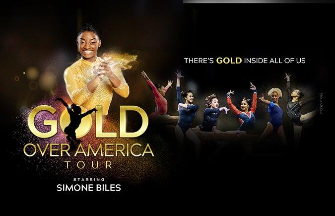 More Info for Simone Biles Headlines Gold Over America Tour at T-Mobile Center