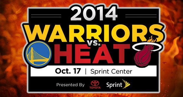 Golden State Warriors vs. Miami HEAT | Sprint Center