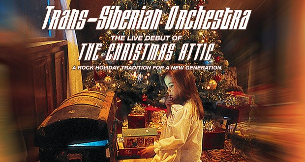 trans siberian orchestra debuts the christmas attic live at sprint center sprint center - Christmas Attic