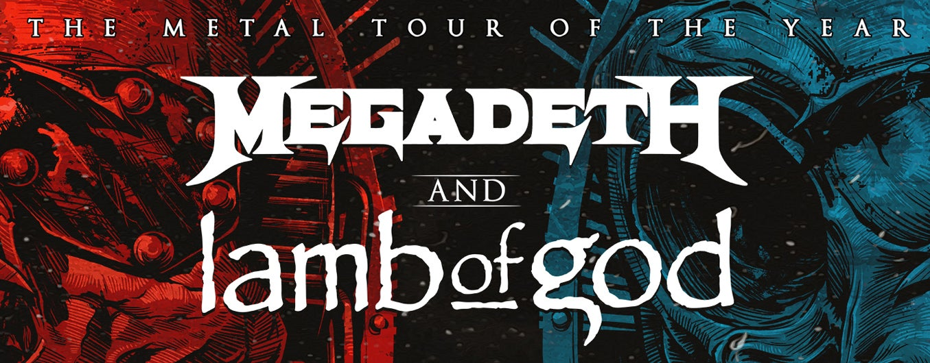 RESCHEDULED: Megadeth and Lamb of God