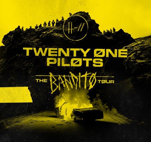 "More Info for TWENTY ØNE PILØTS RETURN WITH TWO NEW TRACKS AND ""THE BANDITØ TØUR"""