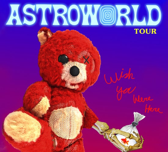 "More Info for Travis Scott Announces Second Leg of ""Astroworld: Wish You Were Here"" Tour"
