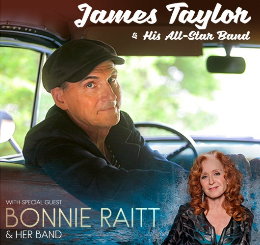 More Info for James Taylor with special guest Bonnie Raitt at Sprint Center