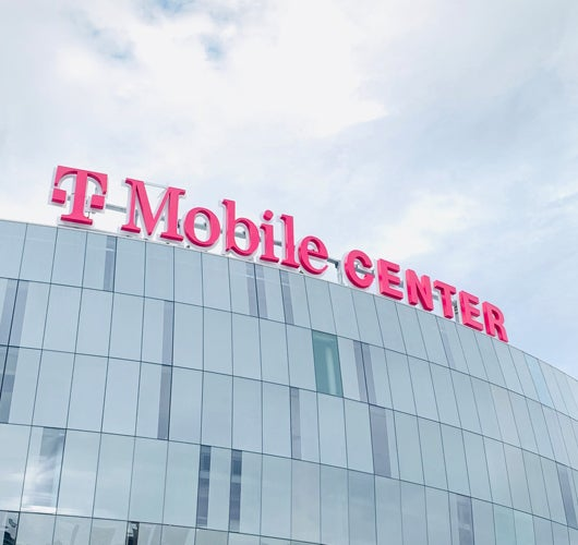 More Info for T-Mobile Center Debuts New 'Heart KC' Installation and Hoists New Parapet Sign