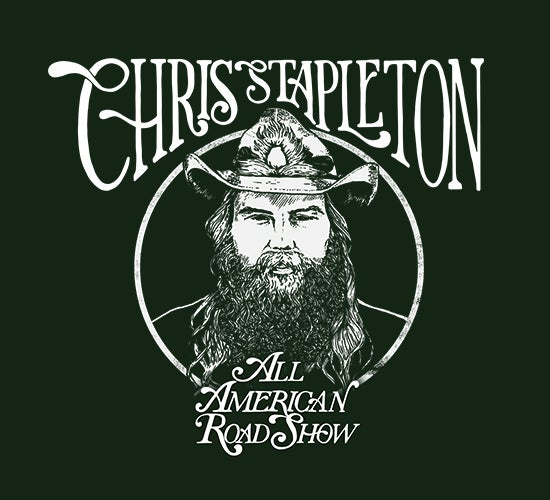 "More Info for Chris Stapleton Confirms 2019 ""All-American Road Show"" Tour Dates"