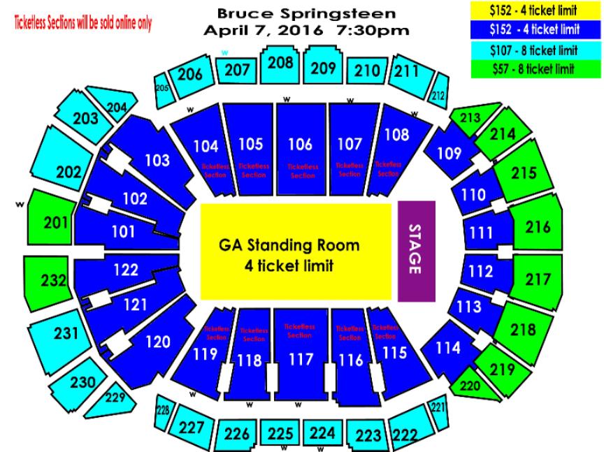 sprint center floor plan wilson in kansas city mo groupon sprint center tickets and