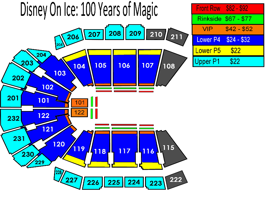 Disney On Ice: 100 Years of Magic   Sprint Center on cast disney map, disney princess map, disney frozen map, pink map, disney dumbo map,