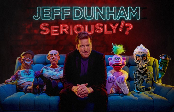 More Info for Jeff Dunham: Seriously!? International Tour Stops at T-Mobile Center