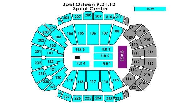 Joel Osteen Sprint Center