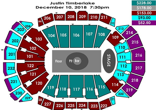 Hd Image Of Seating Charts Sprint Center