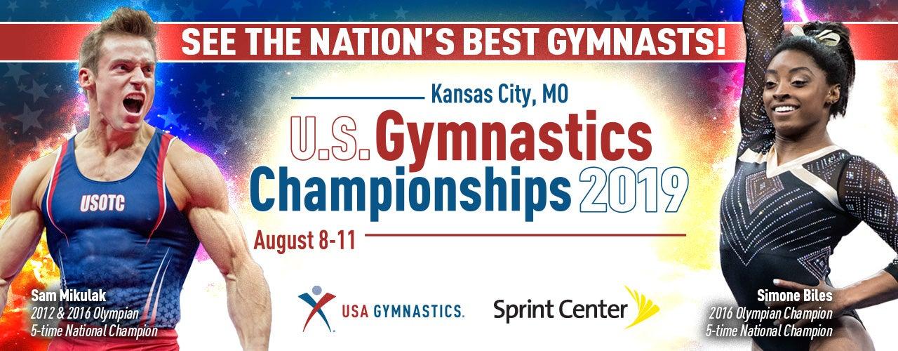 2019 U S Gymnastics Championships Head To Kansas City