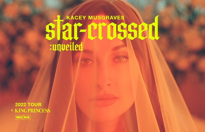 """More Info for Kacey Musgraves Live """"star-crossed: unveiled"""" Headlining Tour Comes to T-Mobile Center"""