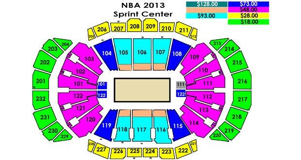 Charlotte Bobcats Vs Miami Heat Sprint Center