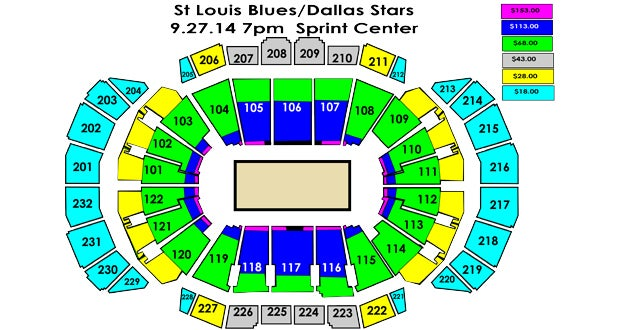 Dallas stars vs st louis blues sprint center