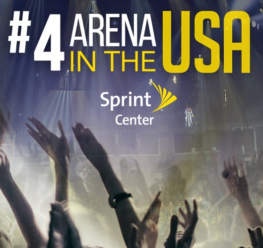 More Info for Sprint Center Recognized as America's Fourth Busiest Arena