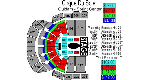 You can purchase Cirque du Soleil tickets from Box Office Ticket Sales.