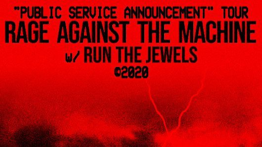 More Info for Rage Against The Machine is Postponing Tour Dates Including Stop at T-Mobile Center