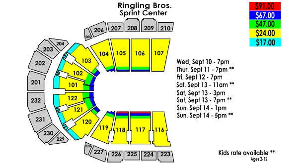 Ringling Bros. and Barnum & Bailey Circus Tickets | Event ...