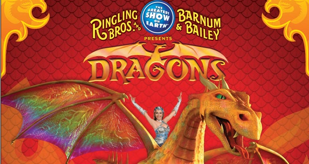 Dragons Opens in Atlanta from Ringling Brothers and Barnum ...