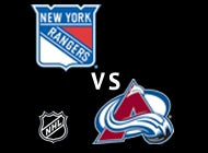 More Info for New York Rangers and Colorado Avalanche Face-Off On Oct. 6