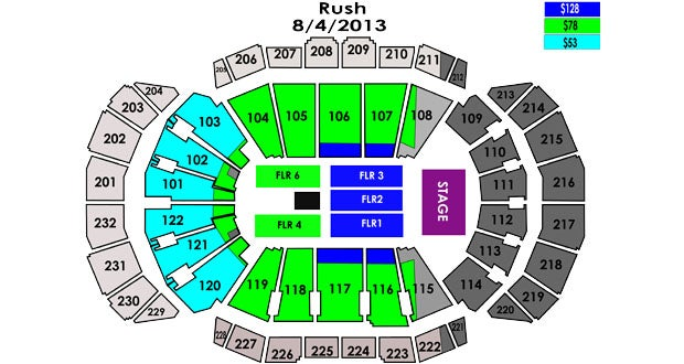 Tickets for Rush are on sale now online through SprintCenter.com, at ...