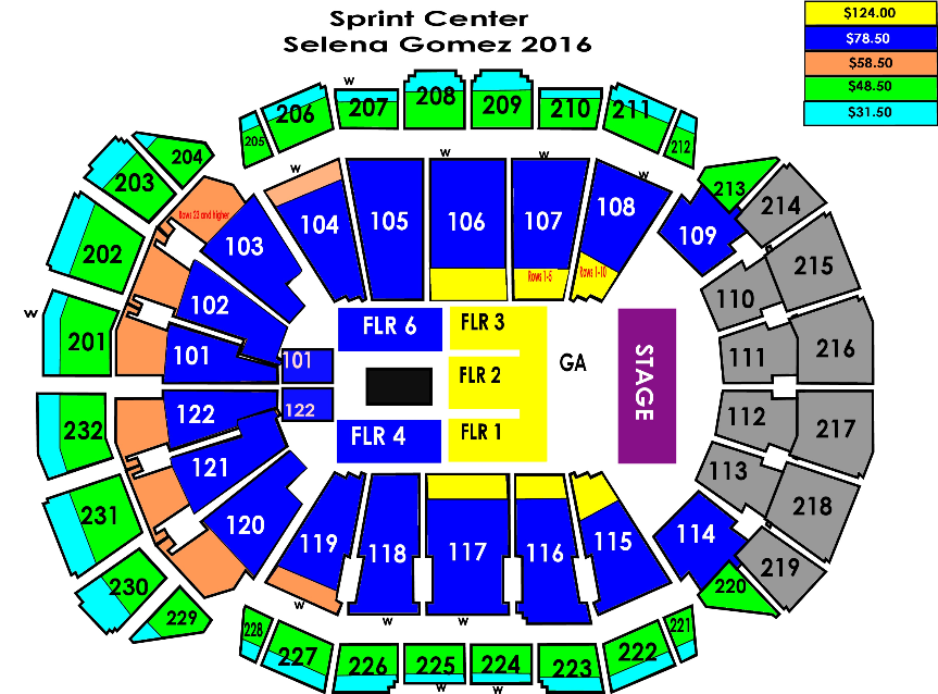 Tickets on sale now at SprintCenter.com,