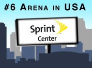 More Info for Sprint Center Recognized as America's Sixth Busiest Arena for 2012