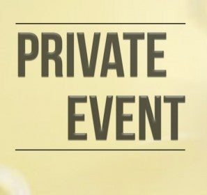 More Info for Private Event