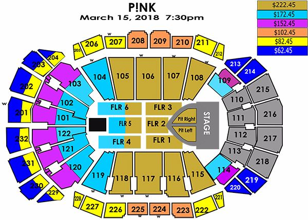 Seating Charts Sprint Center - Verizon center seating map